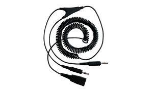 QD-PC cord 2x3,5 mm jack