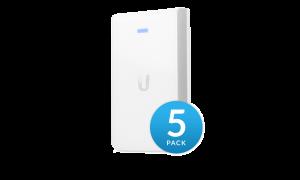 UniFi AP, AC, In Wall 5-Pack