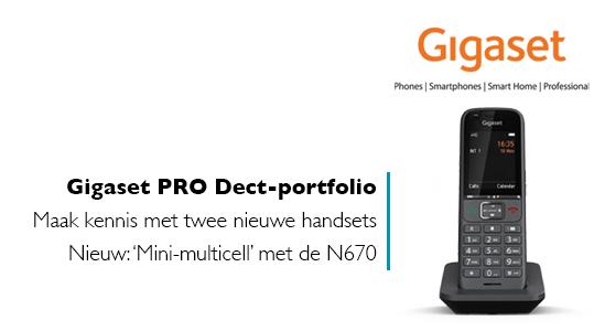 Gigaset presenteert nieuwe Professional DECT-handsets