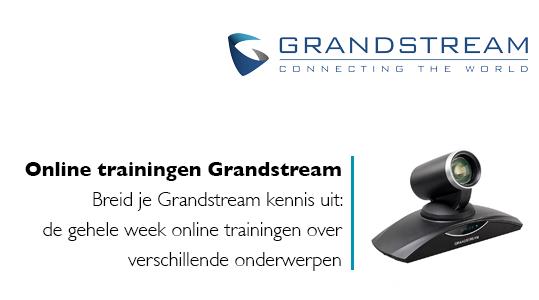Grandstream trainingen