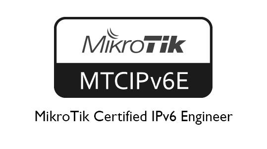 MTCIPv6E MikroTik Certified IPv6 Engineer