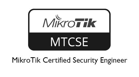 MTCSE - MikroTik Certified Security Engineer