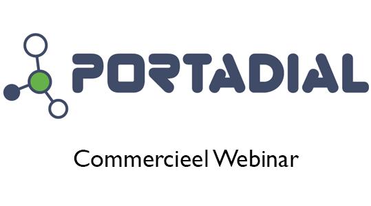 Portadial: Commerciëel Webinar