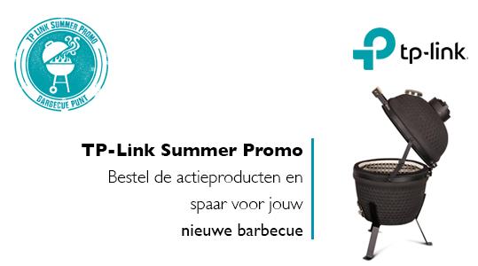 TP-Link Summer Promo: Spaar voor je barbecue-uitrusting