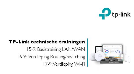 Technische trainingen TP-Link